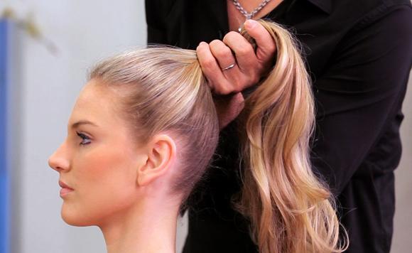 figaro haartrends lente zomer paardenstaart